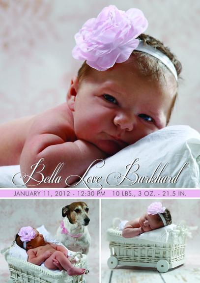 Bella Burkhard Magnet Announcement