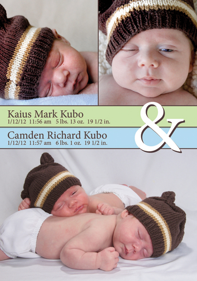 Kaius and Camden Kubo Magnet Announcement