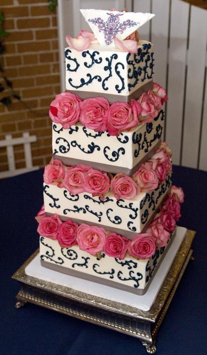 Erin's Wedding Cake