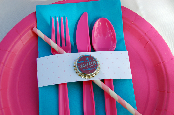 Plate and Silverware Wrap