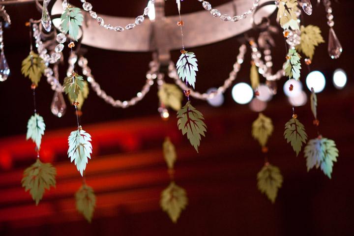 Ceiling Leaf Decorations