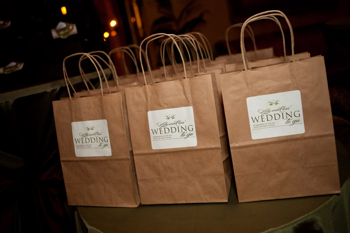 To Go Favor Bags