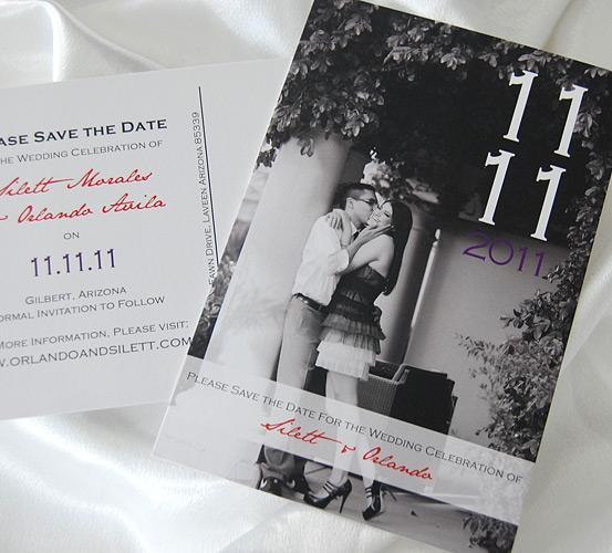 Photograph Postcard Save the Date